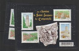 France Année 2012 Bloc Saint Jacques De Compostelle F4641 ** MNH Par 6 Exemplaires - Nuovi