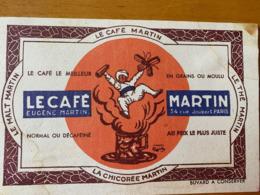 1 BUVARD CAFE MARTIN - Café & Thé