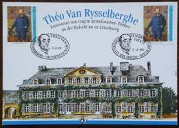 Belgique - CM 1996 -  YT N°2628 - Théo Van Rysselberghe - 1991-2000