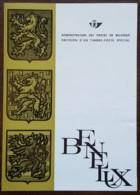 Belgique - FDC Sur Document - YT N°1306 - BENELUX - 1964 - FDC