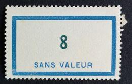 France Fictif N° F106 N** Luxe Gomme D'origine, TTB. Cote 2020 : 3 €. Voir Photos Recto Verso - Fictifs
