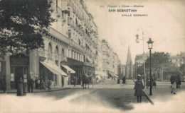 CALLE RUE STREET HERNANI HAUSER MENET MADRID - San Sebastian Guipuzcoa Gipuzkoa Vasco Basque España Espagne Spain - Guipúzcoa (San Sebastián)