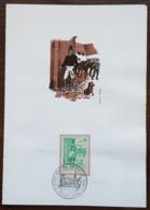 Belgique - FDC Sur Document - YT N°1328 - Journée Du Timbre - 1965 - FDC