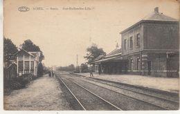Achel - Statie - Sint-Huibrechts-Lille - Photo J. Meuleman, Rethy/Préaux - Stations Without Trains