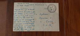 24.03.1919 - FM, Armée D'Orient En Campagne De Passage à Constantinople - TAD Trésor Et Postes 526 A Pour Saacy - Military Postmarks From 1900 (out Of Wars Periods)