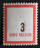 France Fictif N° F119 N** Luxe Gomme D'origine, TTB. Cote 2020 : 4 €. Voir Photos Recto Verso - Fictifs