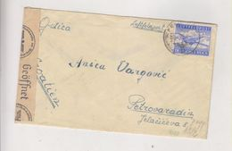 CROATIA, WW II,GERMANY Military Cover 1942 Feldpost 40643,Croatian Air Forces (15. Staffel (Kroat ) KAMPF -GESCHWEDER 53 - Croazia