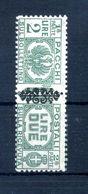 1945 LUOGOTENENZA PACCHI POSTALI N.55 * - 5. 1944-46 Lieutenance & Umberto II