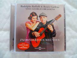 Georges BRASSENS Par Rodolphe RAFFALLI & Renée GARLENE : 17 Titres Et Un Livret De 8 Pages - Musique & Instruments