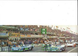 25484 - Carte Double Le Mans Cité Des 24 Heures Cité Des Assurances Publicité - Le Mans