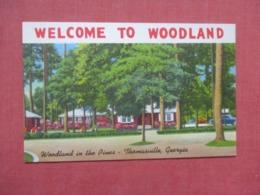 Woodland In The Pines  Thomasville  Georgia  Ref 4160 - Etats-Unis