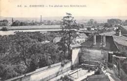 78 - CARRIERES : Vue Générale ( Vers ST GERMAIN ) CPA - Yvelines - Carrières-sur-Seine