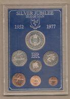 """Man - Serie Completa FDC: """"Silver Jubilee"""" - 1977 - Regionale Währungen"""