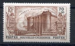 RC 17840 Nelle CALÉDONIE COTE 20€ N° 176 ANNIVERSAIRE DE LA REVOLUTION LA BASTILLE NEUF * TB  MH VF - Nueva Caledonia