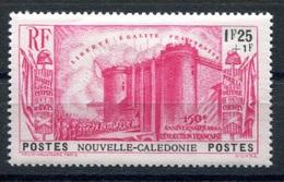 RC 17842 Nelle CALÉDONIE COTE 20€ N° 178 ANNIVERSAIRE DE LA REVOLUTION LA BASTILLE NEUF * TB  MH VF ( VOIR DESCRIPTION ) - Nueva Caledonia
