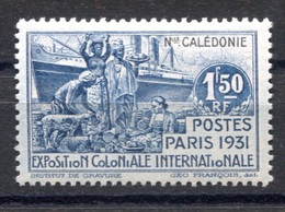 RC 17845 Nelle CALÉDONIE COTE 8,75€ N° 165 EXPOSITION COLONIALE PARIS 1931 NEUF * TB  MH VF - Nueva Caledonia