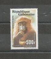 GABON  TP NEUF N° 682D  THEME FAUNE DU GABON  LE MANDRILL.  COTE  6.50 EUROS. - Monkeys