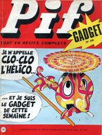 Pif Gadget N°108 - Teddy Ted - Corto Maltese - Pif Gadget