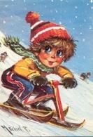 CPM - ILLUSTRATION M.THOMAS - Vélo Ski - Edition Krisarts / Série B102-N°169 - Thomas