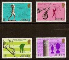 JERSEY 1978 Mi 173-76** Centennary Of The Royal Golf Club On Jersey [L 204] - Golf