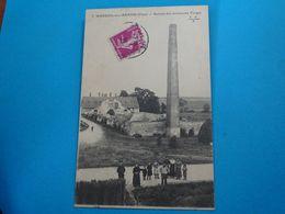 18 ) Mareuil-sur-arnon - N° 7 - Ruine Des Anciennes Forges - Année 1933 : EDIT : E.M.B - Autres Communes