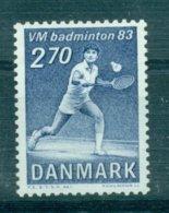 DENMARK 1983 Mi 770** Badminton World Championships [L 1822] - Badminton