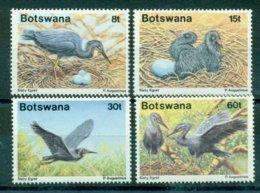 BOTSWANA 1989 Mi 455-58** Birds [L 2372] - Storchenvögel