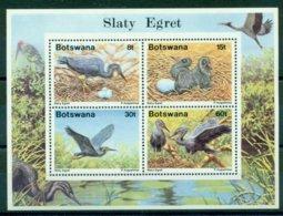 BOTSWANA 1989 Mi BL 22** Birds [L 2373] - Storchenvögel