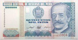 Pérou - 500000 Intis - 1989 - PICK 147r - NEUF - Peru