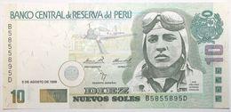 Pérou - 10 Nuevos Soles - 1998 - PICK 166a.2 - NEUF - Peru