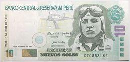 Pérou - 10 Nuevos Soles - 2001 - PICK 175 - NEUF - Peru
