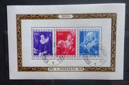 BELGIE  1949   Blok 27   Jordaens     Gestempeld    CW  170,00 - Bloques 1924 – 1960