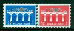 BELGIUM 1984 Mi 2182-83** Europa CEPT - 25th Anniversary [A3595] - 1984