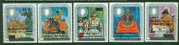 COMORES 1979 Mi 543-47** 25th Anniversay Of The Coronation Of Queen Elizabeth II – Overprint [A4403] - Royalties, Royals