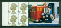 GREAT BRITAIN 2000 Mi H-blatt 235 Booklet Pane** Stamp Exhibition The Stamp Show [A2681] - Expositions Philatéliques