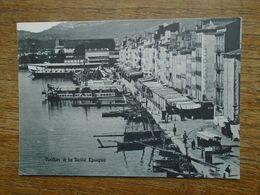Réédition , Toulon , Le Quai Cronstadr Construit En 1606 , Le Tramway Hippomobile - Toulon