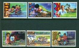 PAPUA NEW GUINEA 2006 Mi 1166-71** 50th Anniversary Of The Linguistic Summer Institute [A1769] - Languages