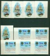 TONGA 1977 Mi 619-28** Bicentennial Captain Cook's Farewell Voyage [A2153] - Ships