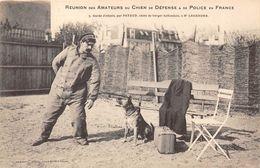 CHIENS-REUNION DES AMATEUR DU CHIEN DE DEFENSE ET DE POLICE EN FRANCE - Hunde