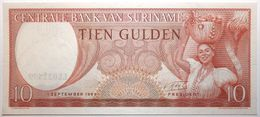 Surinam - 10 Gulden - 1963 - PICK 121b - NEUF - Surinam