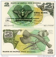 PAPUA NEW GUINEA       2 Kina       P-1a       ND (1975)       UNC - Papua Nuova Guinea