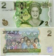 FIJI       2 Dollars      P-109b       ND (2010)       UNC - Fiji