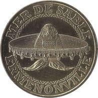 2018 MDP151 - ERMENONVILLE - La Mer De Sable 7 (Sombrero) / MONNAIE DE PARIS - 2018