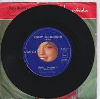 OLD RECORD ARIOLA - GERMAN FILM MOVIE STAR ROMY SCHNEIDER - Vinyles