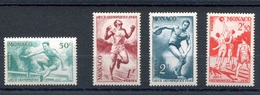 RC 17870 MONACO N° 319 / 322 - ATHLÉTISME ET BASKET  NEUF ** TB  MNH VF - Summer 1948: London