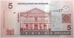 Surinam - 5 Dollars - 2004 - PICK 157a - NEUF - Suriname