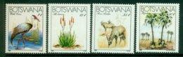 BOTSWANA 1983 Mi 325-28** Rare Animals And Plants [A4836] - Briefmarken