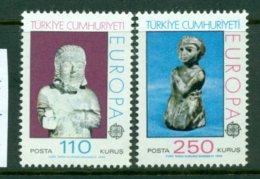 TURKEY 1974 Mi 2320-21** Europa CEPT - Sculptures [A5440] - Europa-CEPT