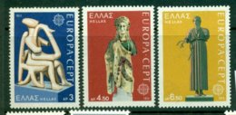 GREECE 1974 Mi 1166-68** Europa CEPT - Sculptures [A5441] - Europa-CEPT
