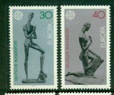 WEST GERMANY 1974 Mi 804-05** Europa CEPT - Sculptures [A5447] - Europa-CEPT